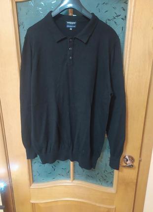 Безупречный базовый свитер поло из 💯 шерсти мериноса от boston...