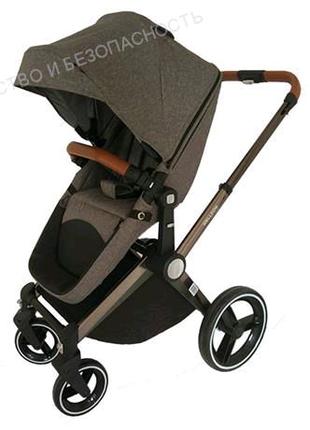 Детская коляска 2 в 1 (серый)