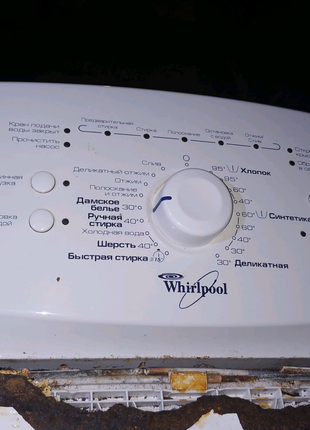 Whirlpool AWE 2221 стиральная машинка на запчасти