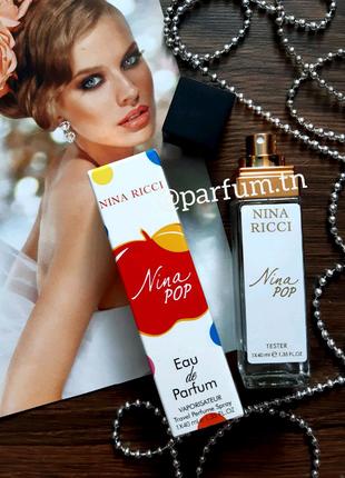 Nina ricci pop, духи, парфюм, парфюмированная вода, тестер