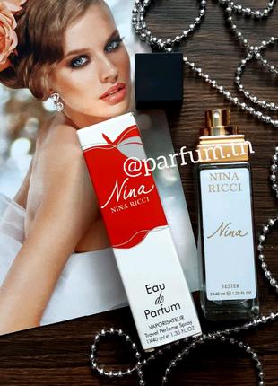 Nina ricci, парфюм, духи, парфюмированная вода, тестер
