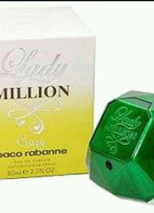 Женская туалетная вода   Paco Rabanne   Lady  Million  Crazy