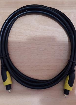 Оптический аудио кабель для звука Optical Toslink 1.5m