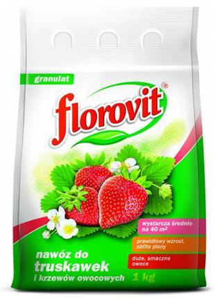 FLOROVIT Добриво для полуниці 1кг. ФЛОРОВІТ