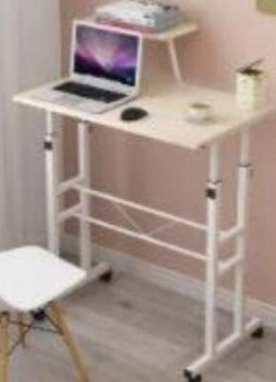 Регулируемый по высоте портативный стол для ноутбука