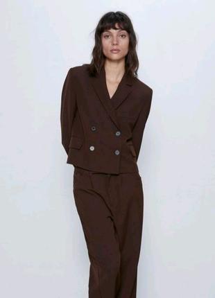 Шикарный оригинальный пиджак Zara, М.