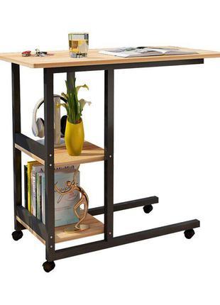 Прикроватный столик для ноутбука на колесиках