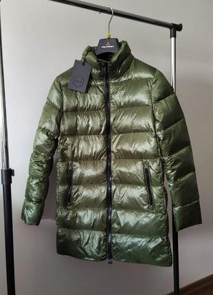 Новый пуховик hox с глянцевым блеском куртка на пуху 90% пух з...