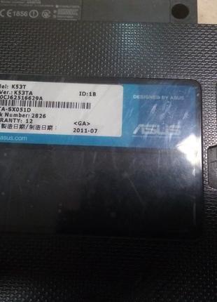Ноутбук Asus K53T на запчасти