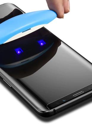 УФ Нано защитное стекло Samsung S7 edge G935 клей Уф-Лампа