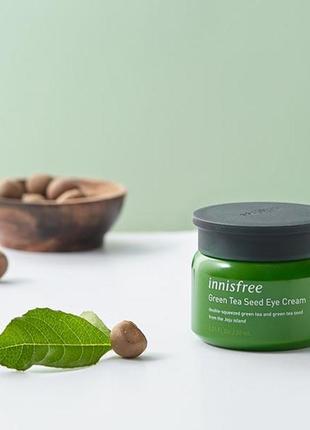 Крем для кожи вокруг глаз с экстрактом семян зеленого чая от i...