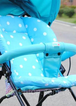 Чехол (вкладыш) в коляску, стульчик для кормления, автокресло