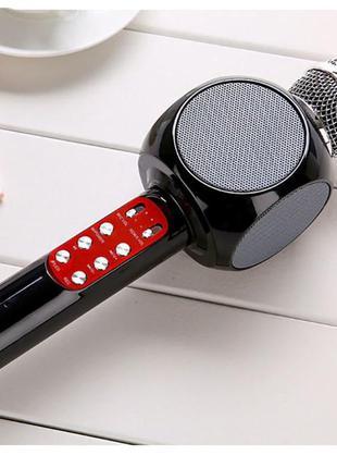 Оригинальный беспроводной караоке микрофон колонка WSTER WS-1816