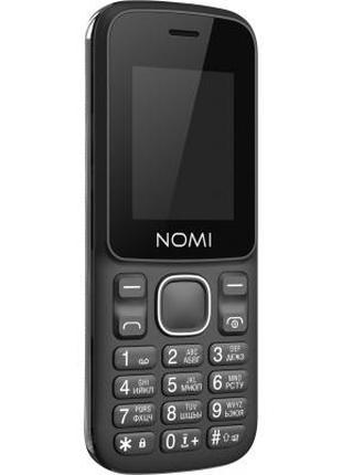 Мобильный телефон Nomi i188s Black 376027