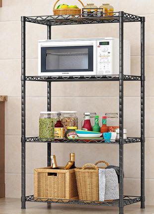 Кухонный стеллаж для микроволновки 4 яруса