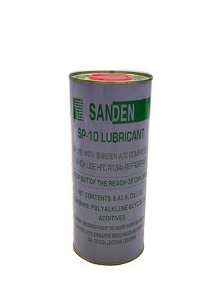 Компрессорное масло Sanden SP10 SP20 1 литр под фреон R-134a