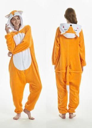 Пижама кигуруми лисичка