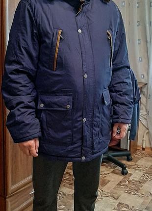 Парка мужская, холодная осень-зима