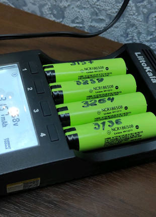Аккумуляторы Panasonic NCR18650B 3400mAh цена за 1шт
