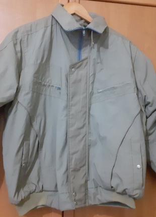Куртка мужская утепленная короткая 48 размер