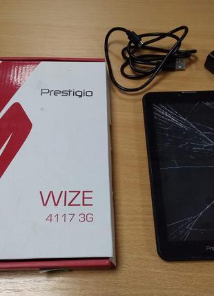 Планшет PRESTIGIO MultiPad Wize 4117 7 1/16GB 3G Black