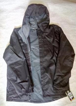 Мужская куртка кофта under armour porter 3-in-1 оригинал р l