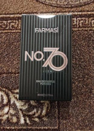 Мужская парфюмированная вода NO.70 Farmasi (1107484)