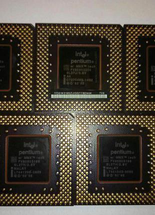 Процессор Intel Pentium MMX 166