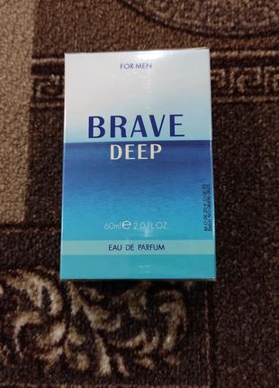 Мужская парфюмированная вода Brave Deep Farmasi   Фармаси, 60 мл