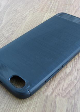 Чехол Xiaomi Redmi Note 5A под карбон черный