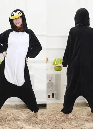 Пижама пингвин