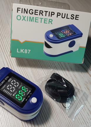Пульсометр оксиметр на палец (пульсоксиметр) LK - 87 купить