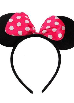Ушки Minnie Mouse для девочки