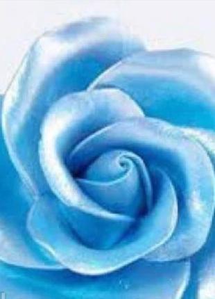 Жидкий перламутровый краситель Голубой, 10 мл.