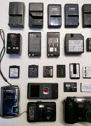 Аккумулятор зарядное устройство для видеокамеры и фотоаппарата