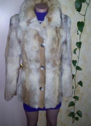 Шуба из меха лисы/ шуба/ шубка/ полушубок/ пальто/пуховик/куртка