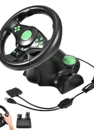 Руль игровой (PS3/PS2/PC) USB