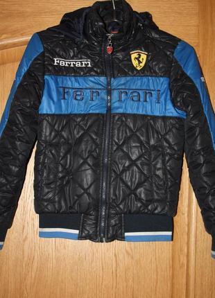 Деми,еврозима курточка для мальчика р-128/134 в хорошем состоянии