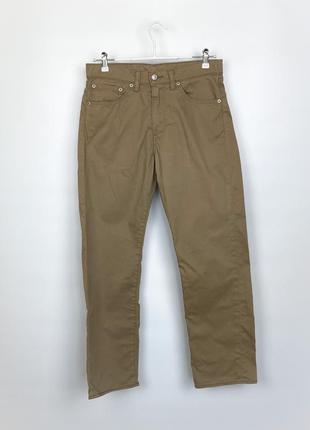 Штаны чинос vintage mens levis 751 chino pants trousers
