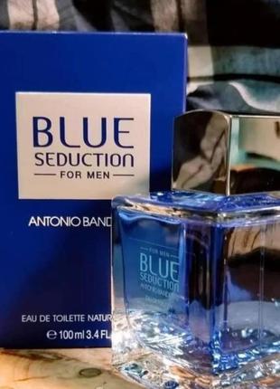 Туалетная вода antonio banderas blue seduction (edt 100ml)