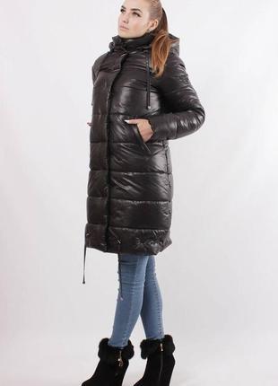 Зимняя куртка из плащевки на синтепоне рр 48-56