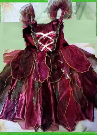 Карнавальный костюм Фея девочке 5 - 6 лет