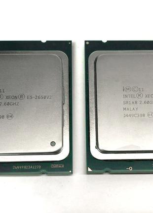 Пара Intel® Xeon E5-2650 v2 8-Core 2.6-3.4GHz 20MB Cache LGA 2011