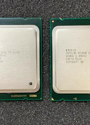 Пара Intel® Xeon® E5-2650 8-Core 2.0-2.8GHz 20MB Cache LGA 2011