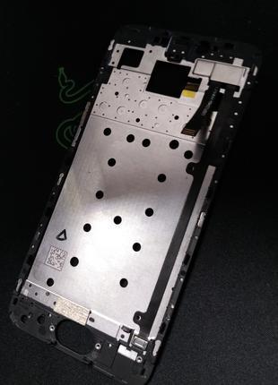 Рамка дисплея Meizu pro 6 черная