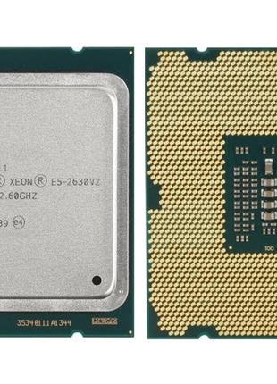 Пара Intel® Xeon E5-2630 v2 6-Core 2.6-3.1GHz 15MB Cache LGA 2011