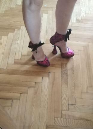 Туфли босоножки ботильоны
