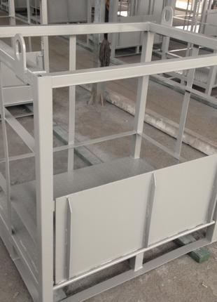 Металлические контейнеры для газовых баллонов (кассета, моноблок)