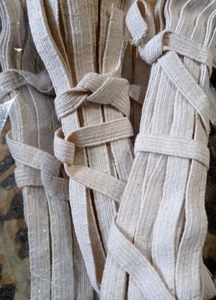 Резинка для трусов 5 метров белая