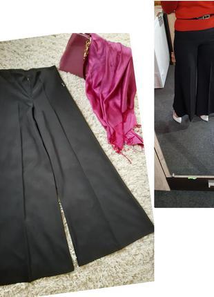 Стильные широкие брюки/кюлоты/клеш, франция, р  10-12